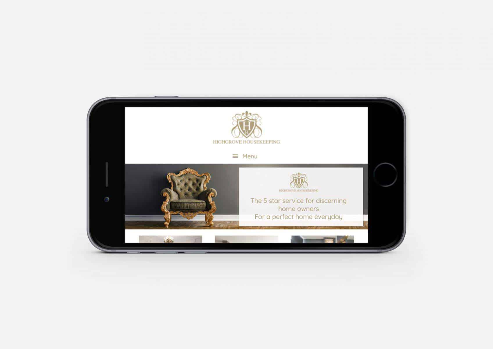 Highgrove Housekeeping Website