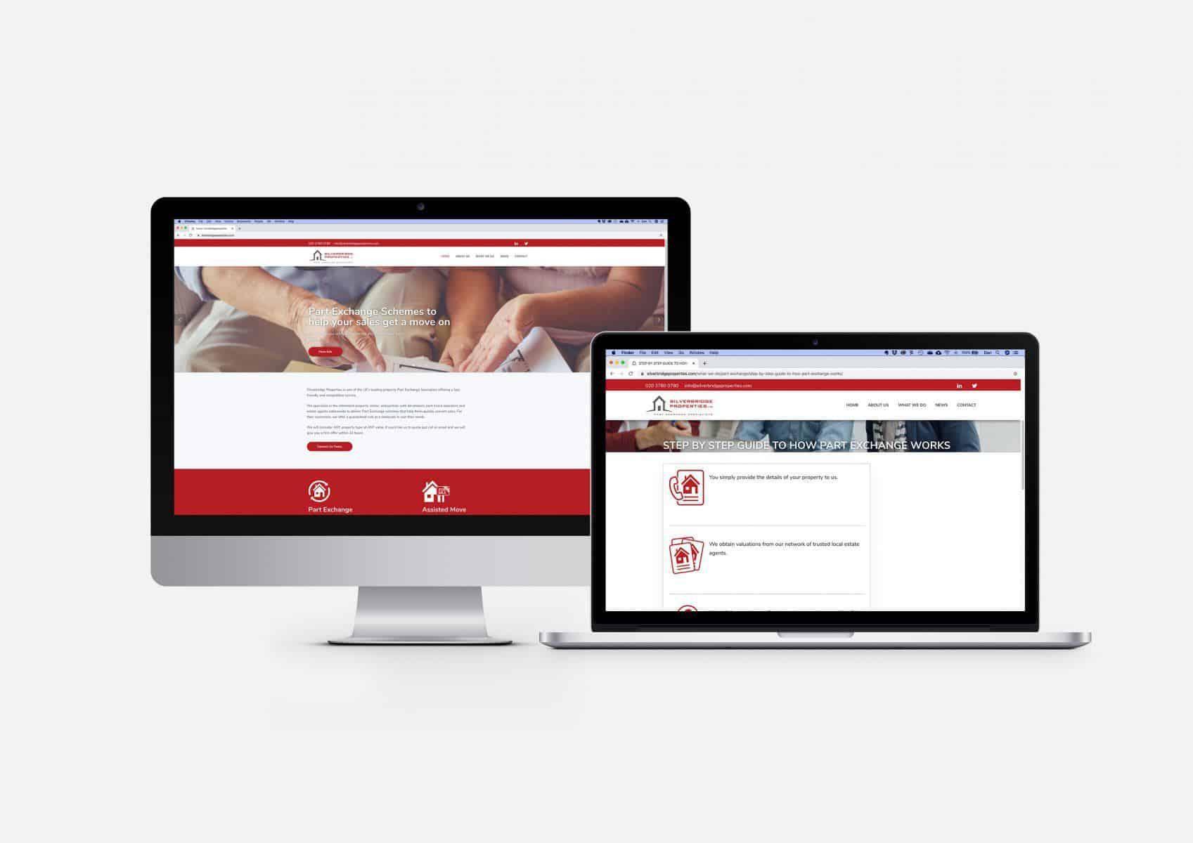 Silver Bridge Properties Website